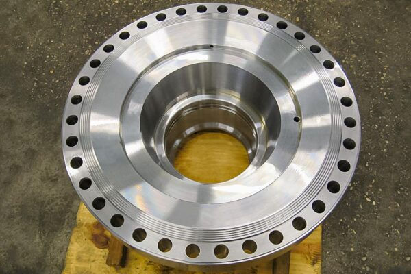 Boring washer for oil plant component